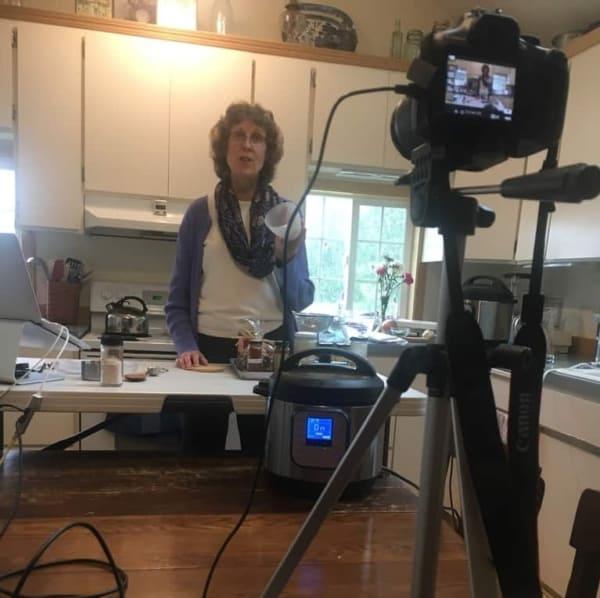 Heather Reseck teaching