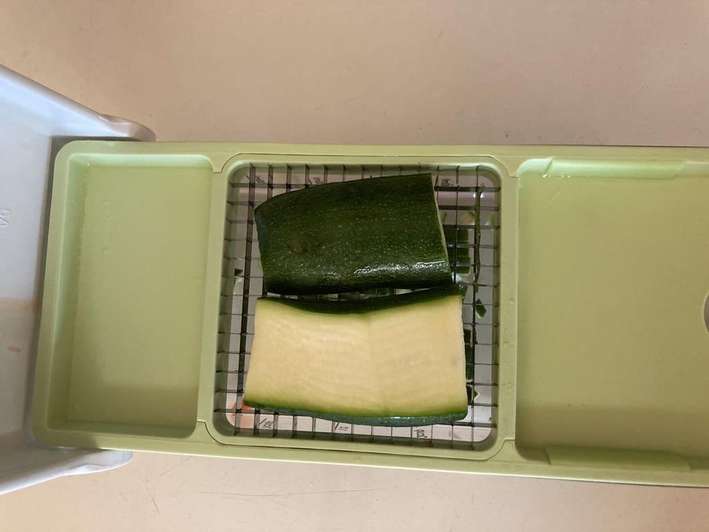zucchini on Vidalia Chop Wizard