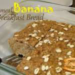 Oatmeal Banana Breakfast Bread
