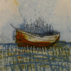 """Untitled Boat Series, 22x30"""""""