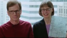 Image from the Chicago Community Trust tribute video showing Michael and Mona