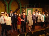 Cast of Happy End by Brown Couch Theatre