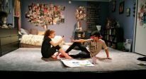 Olivia Shine and Tevion Lanier in The Yard's I and You