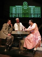 Lance Baker, Rob Riley, and Mark Grapey in I Sailed with Magellan