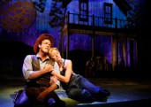 Colte Julian and Allison Sill in Paramount Theatre's Oklahoma!