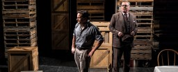 Jim DeVita and Brian Mani in A View from the Bridge at American Players Theatre