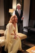 Scene from Who's Afraid of Virginia Woolf at Redtwist Theatre (with audience seats inches from the action)