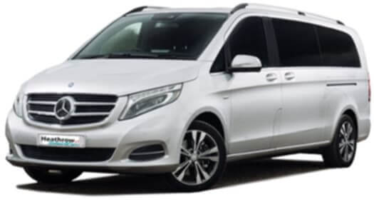 mercedes v class business hire chauffeur for a day