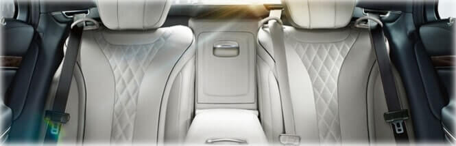 white interior s class mercedes luxury chauffeur driven cars