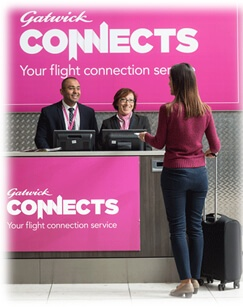 Flight Connections gatwick airport