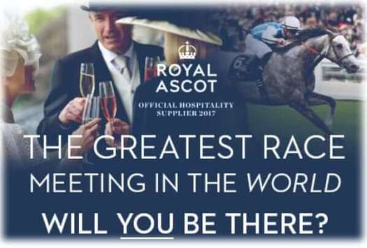 Royal Ascot Hospitality 2017 schedule