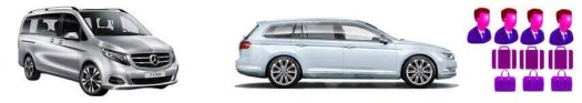 vehicle rental fleet luxury stationwagon and people mover range