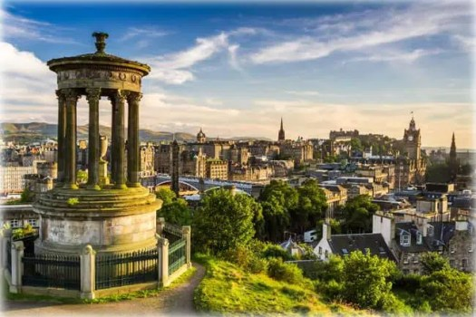 Edinburgh, Scotland - Best Places to Visit in England Calton Hill in Edinburgh