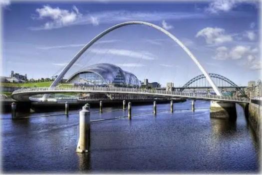 River Tyne, HDR image, Newcastle Upon Tyne, UK