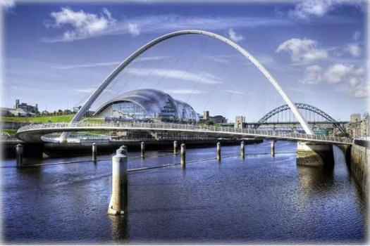 River Tyne, HDR image, Newcastle Upon Tyne, UK