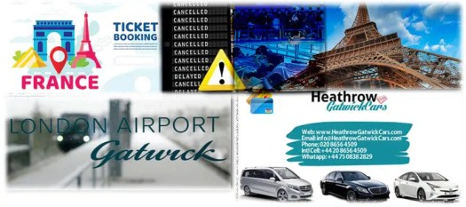 Gatwick Airport to/from Central London and Paris