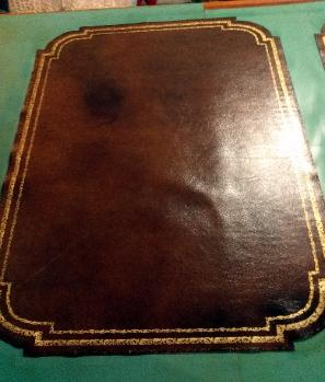 LEATHER DESK  TABLE TOPS REPLACEMENT