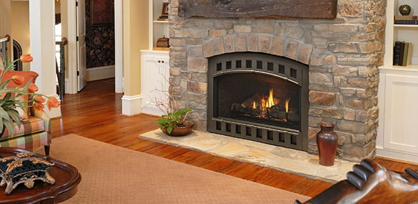 tips for designing around a fireplace