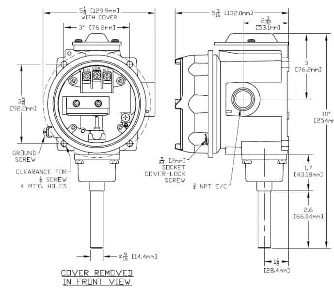 Hazloc Heaters B121-13272 Hazardous Area Air Sensing