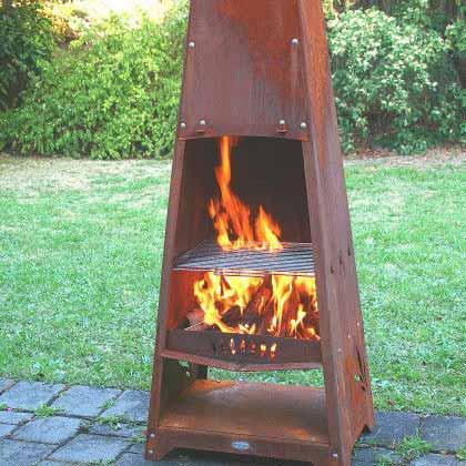 Outdoor Heating  Outdoor Fireplaces  Alfresco Fires