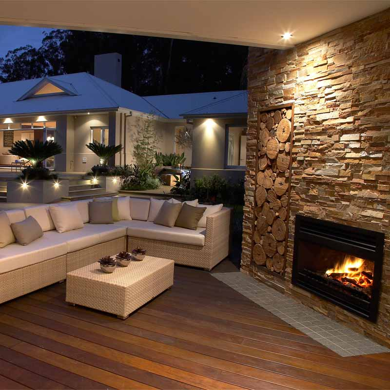 Enclosed Fire Pit