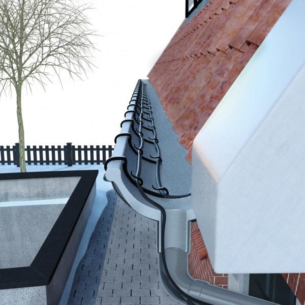Нагревательный кабель для кровли, водостока крыши