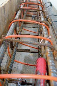 Обогрев бетона в зимой нагревательный кабель