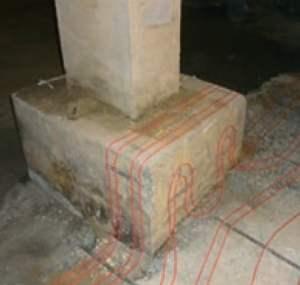 külmkambri põrand läbilõige