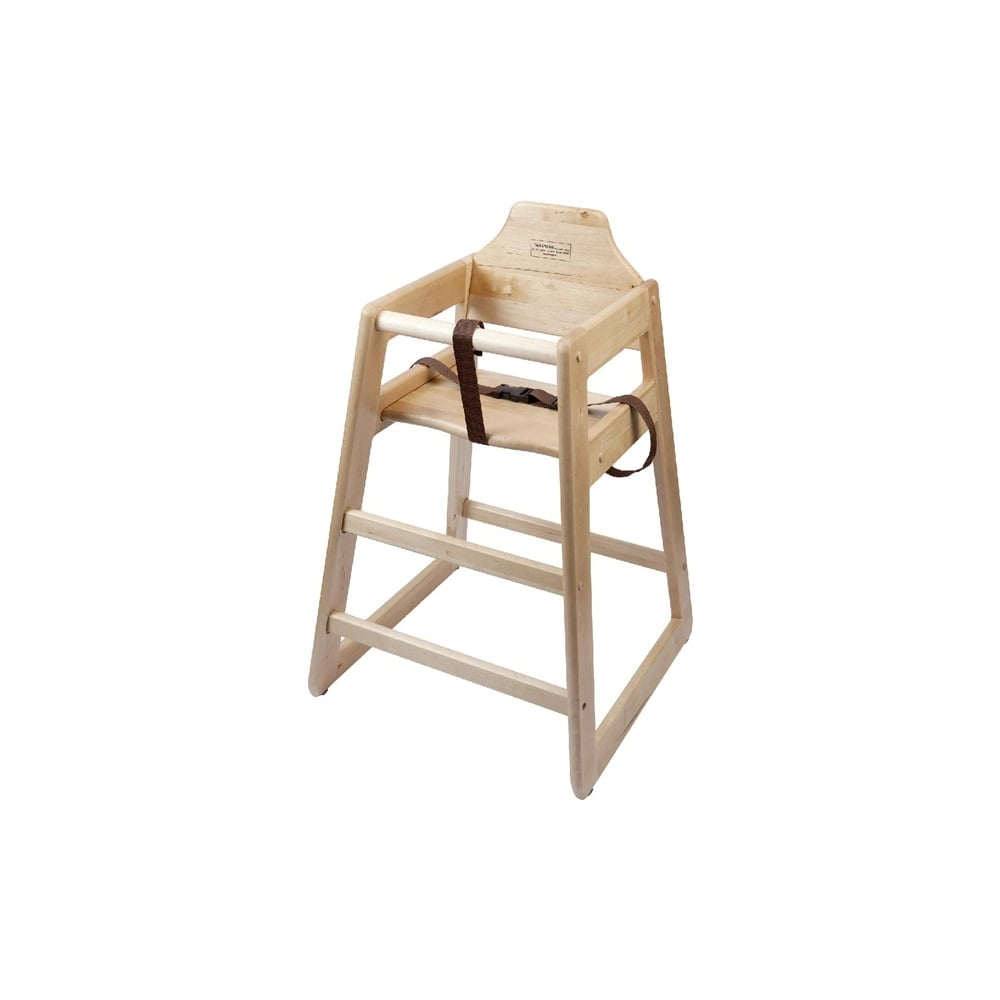 wooden high chair uk cover rentals baltimore md genware light wood furniture outdoors from