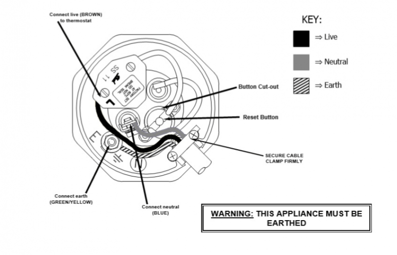 immersion heater switch wiring diagram