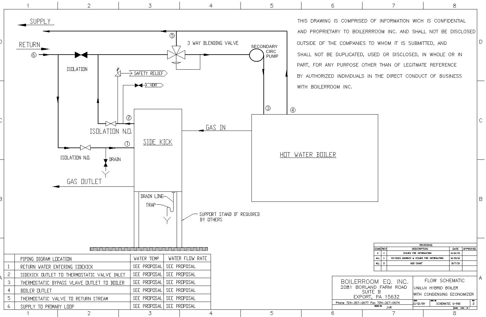 hight resolution of this is a piping diagram for installing an economizer in a hot water system this is the standard installation for a heatsponge sidekick