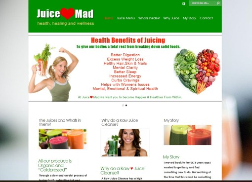Juice-Mad.com – Organic Juice Cleanse in Marbella