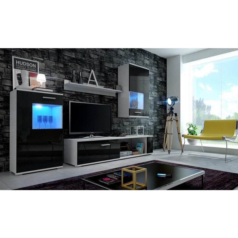living room furniture black gloss wall tiles designs india dior unit set white matte