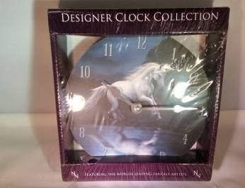 clock moonlight unicorn small