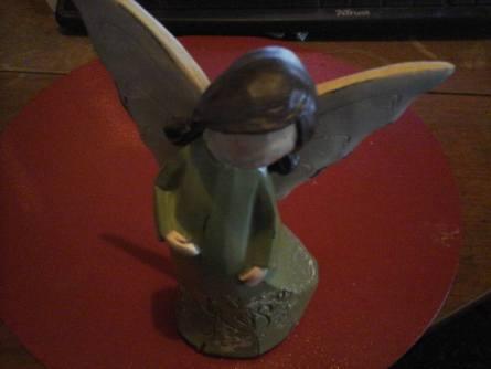 shabby chic angel green Hope