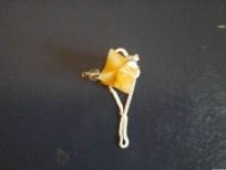 Yellow Agate Merkaba Pendulum