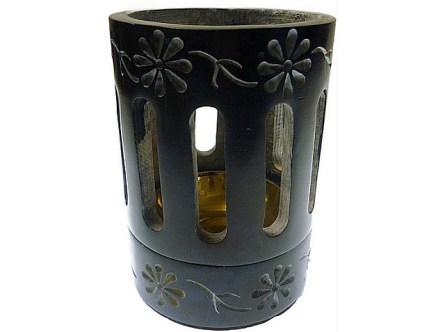 coloured incense or resin burner blue