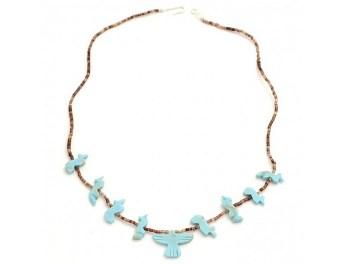turquoise fetish necklace