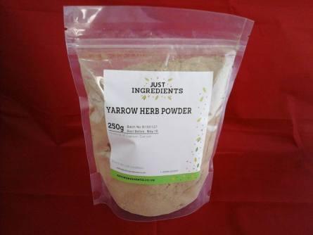 yarrow herb powder july 2016