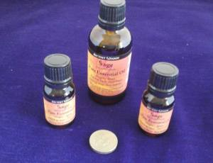 Sage Essential Oil group