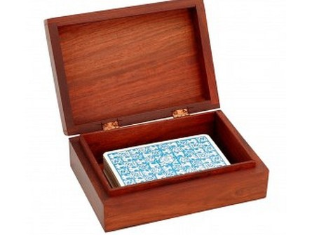 Tarot Box open with cards
