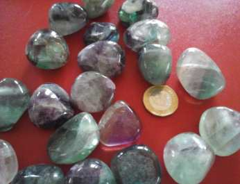 Fluorite - mxd purple and green
