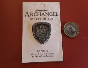 Archangel Raphael Pocket Shield 2