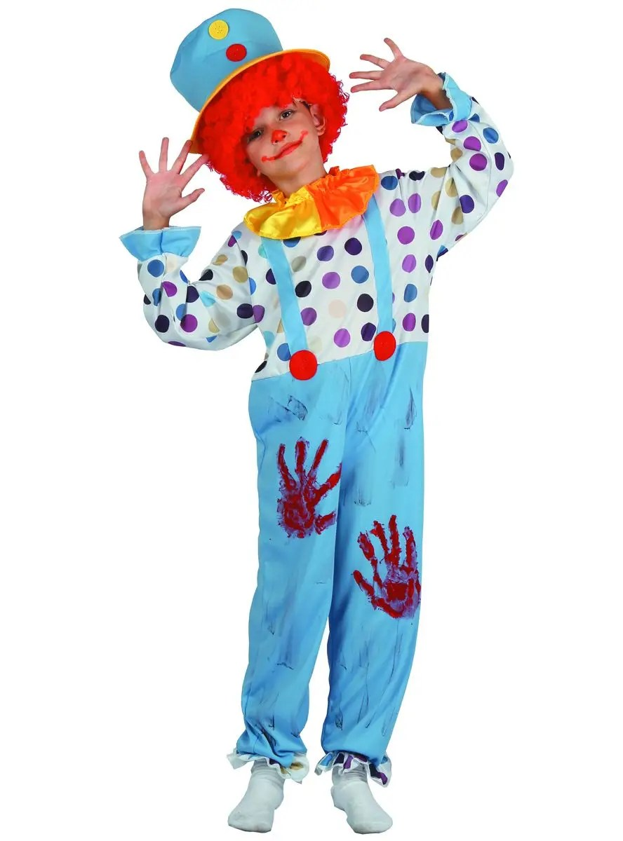 I was wondering what i should make the spear out of and how i sh. Boys Bloody Clown Costume Kid S Halloween Costumes Australia