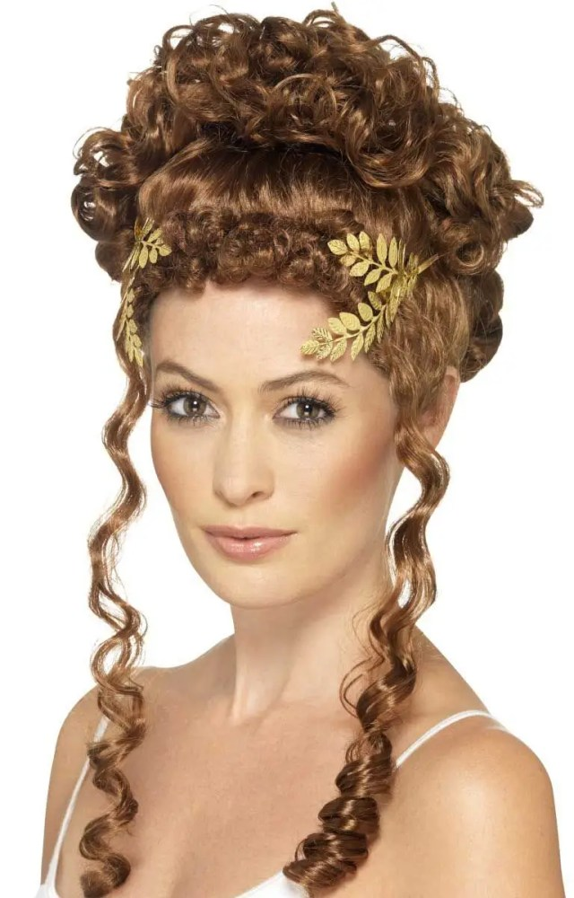 golden goddess women's laurel wreath headpiece