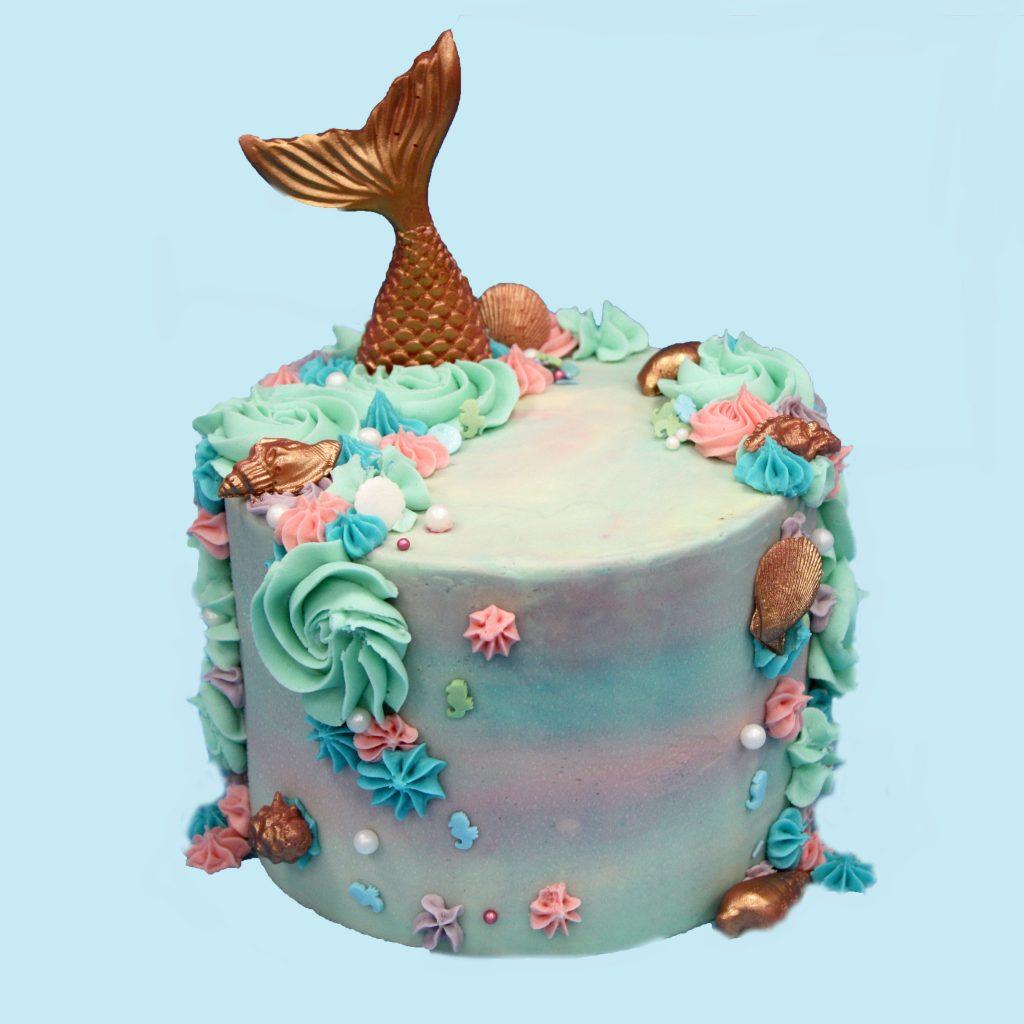 Mermaid Cake Heaven Is A Cupcake St Albans