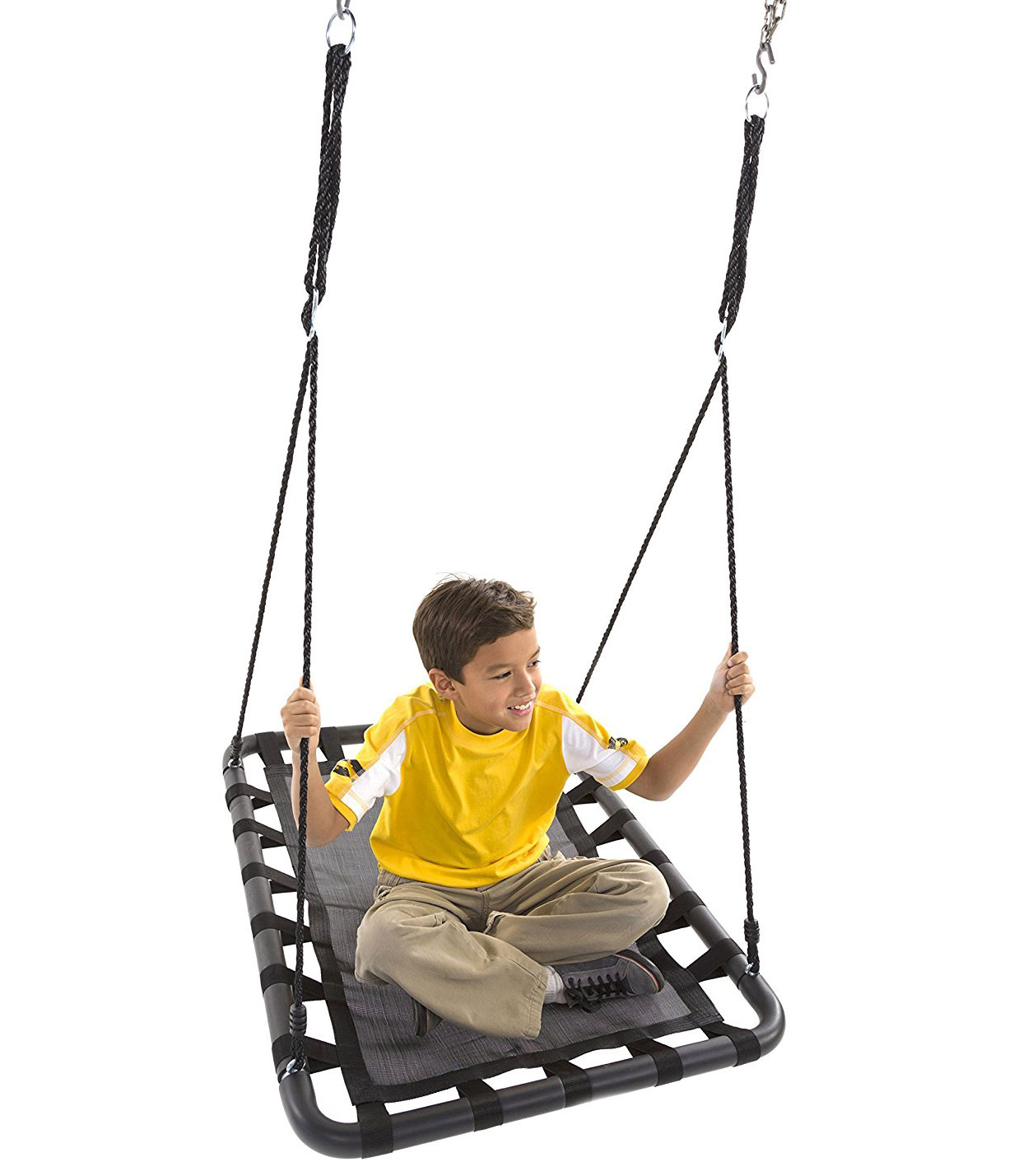swing chair game power for sale 100cm black rectangle mat nest heavenly hammocks