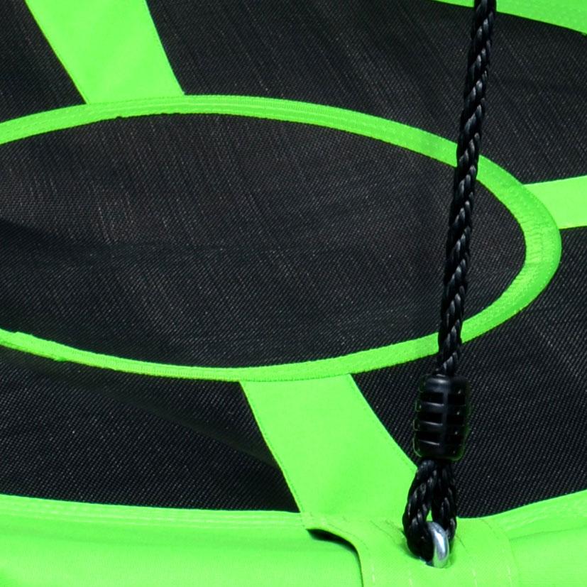 100cm Green Round Mat Nest Swing  Heavenly Hammocks