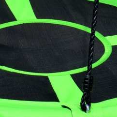 2 Seat Chairs Rocker Recliner Chair Nursery 100cm Green Round Mat Nest Swing - Heavenly Hammocks
