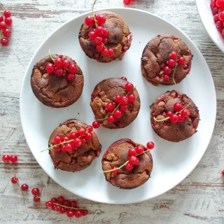 Red Currant and Banana Muffins
